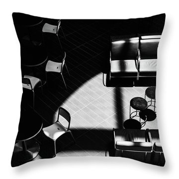 Throw Pillow featuring the photograph Formiture by Eric Lake