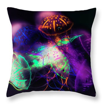 Forms And Merger Throw Pillow