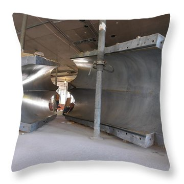 Formwork Throw Pillow