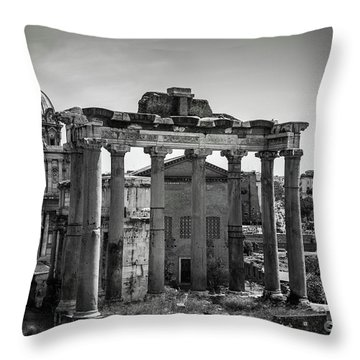 Foro Romano, Rome Italy Throw Pillow