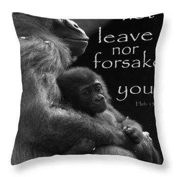 Forsake 11x14 Throw Pillow