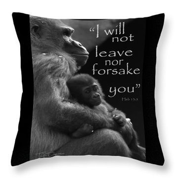 Forsake 11x14 Throw Pillow
