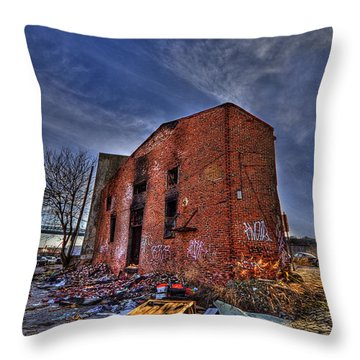 Forsaken Luxury Throw Pillow by Evelina Kremsdorf