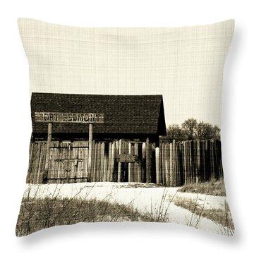Fort Belmont Throw Pillow