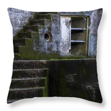 Fort Canby Throw Pillow