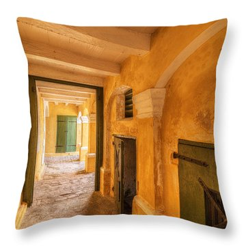 Fort Christianson Throw Pillow