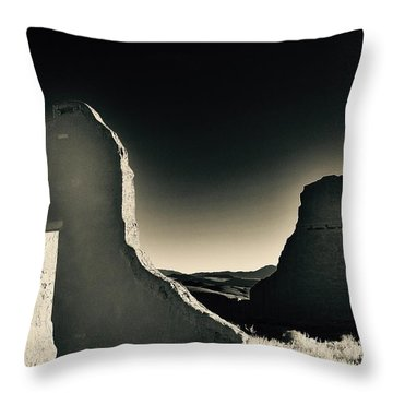 Fort Churchill State Historic Park Throw Pillow