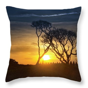 Fort Fisher Sky Watch Throw Pillow