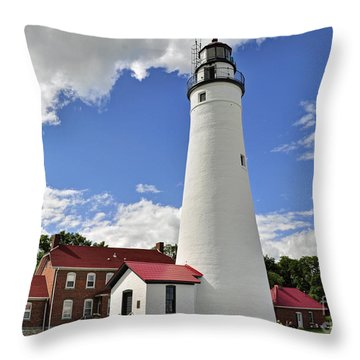 Fort Gratiot Light Throw Pillow