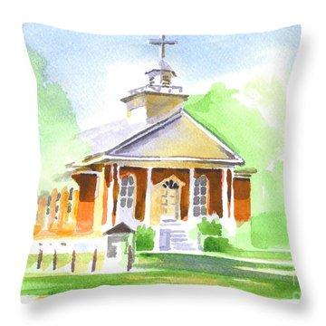 Fort Hill Methodist Church 2 Throw Pillow by Kip DeVore