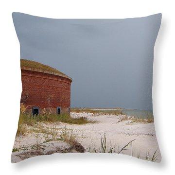 Fort Massachusetts  Throw Pillow