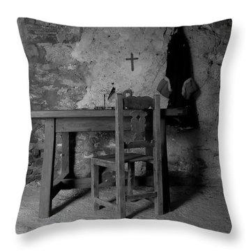 Fort Matanzas Sixteenth Century Throw Pillow by David Lee Thompson