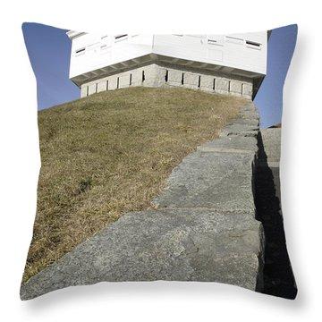 Fort Mcclary - Kittery Maine Usa Throw Pillow by Erin Paul Donovan