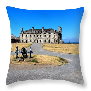 Throw Pillow featuring the photograph Fort Niagara  by Raymond Earley