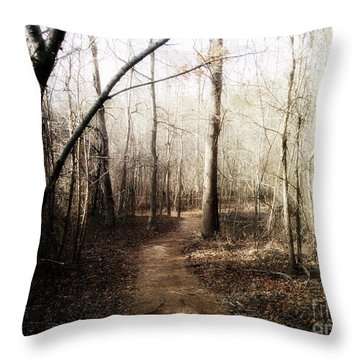 Throw Pillow featuring the photograph Fort Yargo Trail by Utopia Concepts