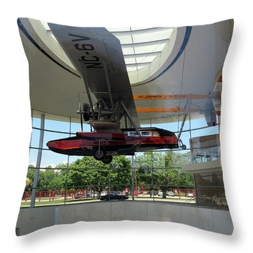Throw Pillow featuring the photograph Fortaleza Hall, Spirit Of Carnauba by Mark Czerniec