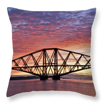 Forth Dawn Throw Pillow