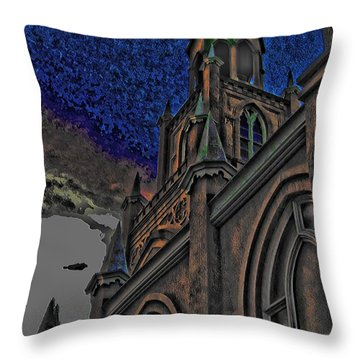 Fortified Throw Pillow