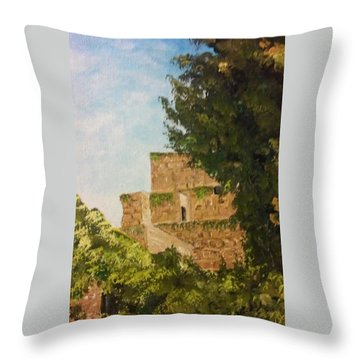 Fortress 2 Throw Pillow