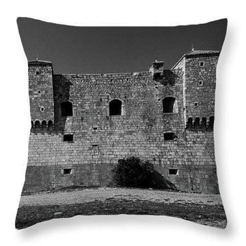 Fortress Nehaj In Senj Throw Pillow
