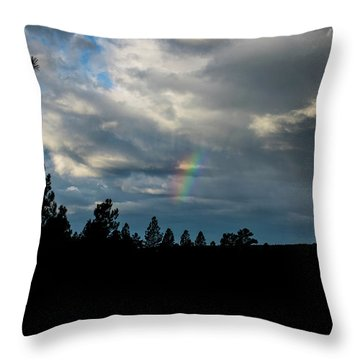 Fortunate Glimpses Throw Pillow