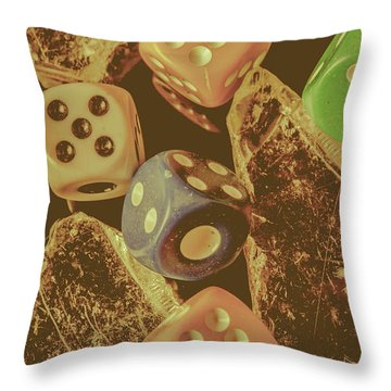 Fortune Faded Throw Pillow