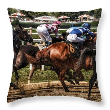 Forty Mph Throw Pillow