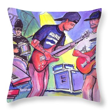 Forty Oz To Freedom Throw Pillow by David Sockrider