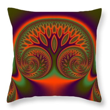 Fosseshold Throw Pillow