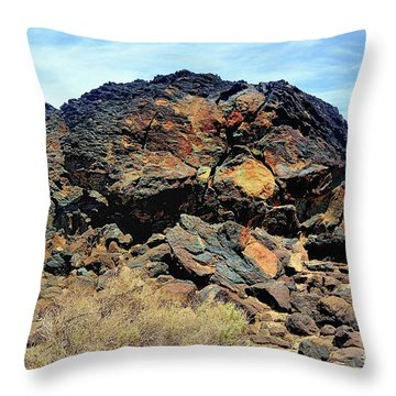 Fossil Falls Throw Pillow
