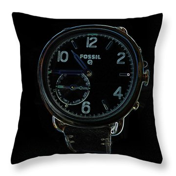 Fossil Q 3 Throw Pillow by Bruce Iorio