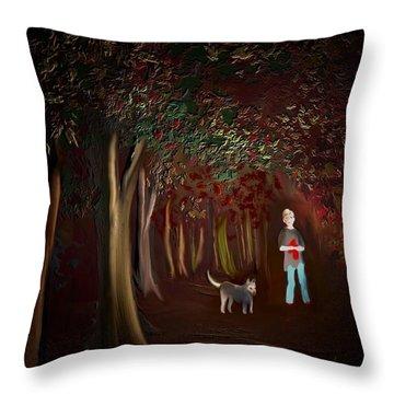 Found II Throw Pillow