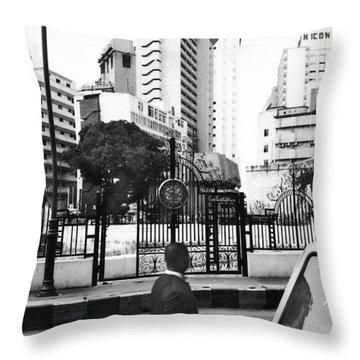Tinubu Square Environ Throw Pillow