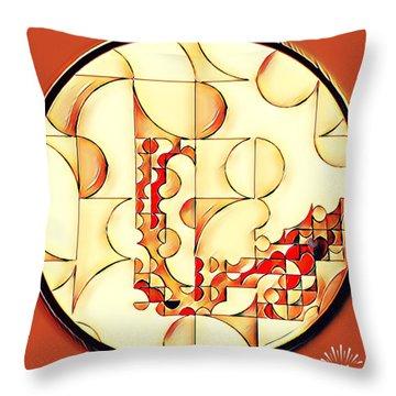 Four Circle Turn Throw Pillow
