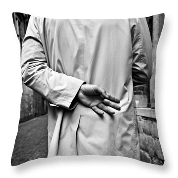 Four Throw Pillow by Dave Bowman