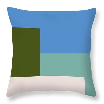 Four Elements Throw Pillow
