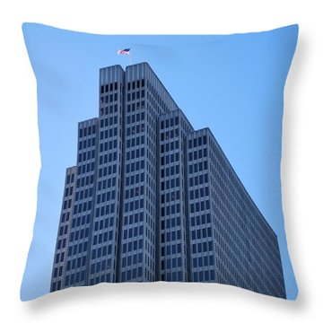 Four Embarcadero Center Office Building - San Francisco Throw Pillow