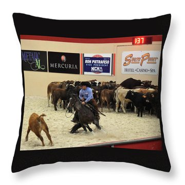 4 Important Factors Throw Pillow by John Glass