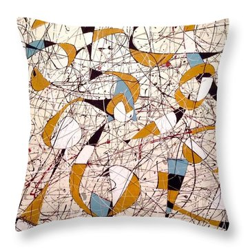 #4 Throw Pillow