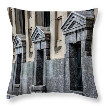 Four Of A Kind Throw Pillow by Jon Burch Photography