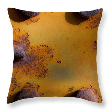 Four Points Throw Pillow by Edgar Laureano