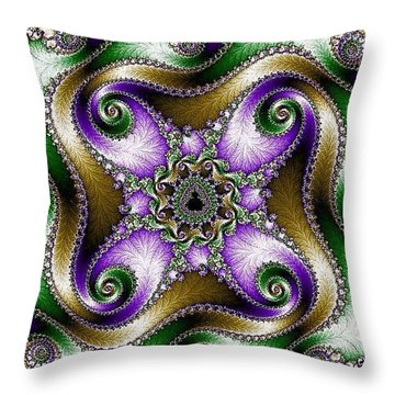 Four Sacred Directions Throw Pillow