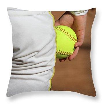 Four Seam Throw Pillow