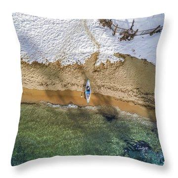 Four Seasons Throw Pillow by Alpha Wanderlust