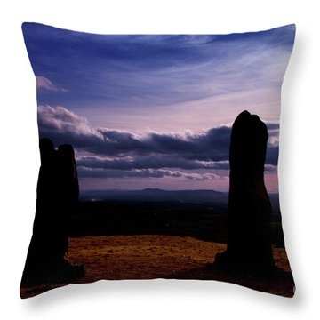 Four Stones Clent Hills Throw Pillow