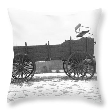 Four Wheel Drive Throw Pillow