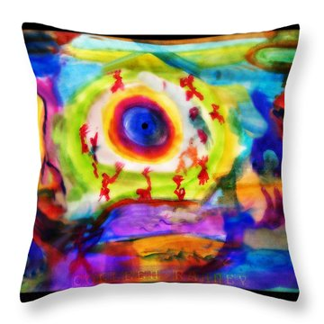 Four Winds By Colleen Ranney Throw Pillow