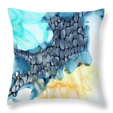4 Winds - Sirocco Throw Pillow