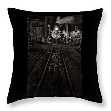 Foureightytwo B And W Version Throw Pillow