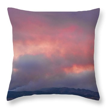 Fourmile Canyon Fire Image 90 Throw Pillow by James BO  Insogna